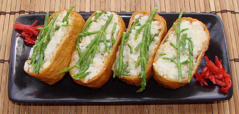 Inarizushi (Inari sushi)